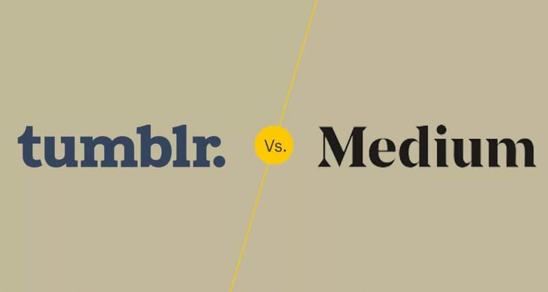 Tumblr Vs. Medium: which is best and why