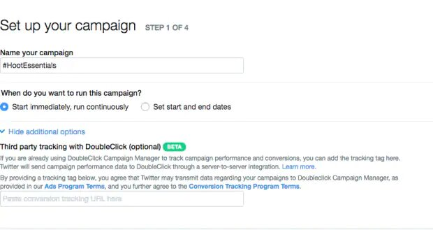 How to Set up Twitter Ad Campaigns
