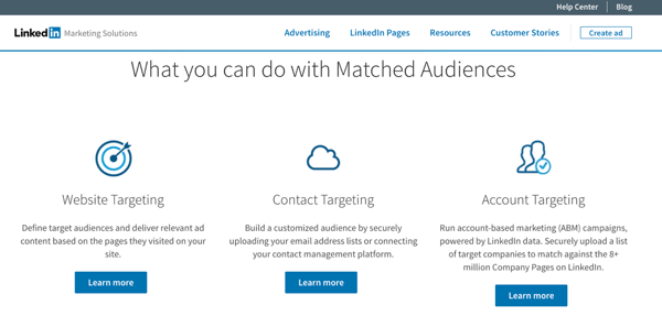 Advertising On Your LinkedIn Business Profile
