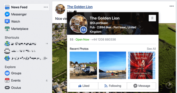 Optimizing Your Facebook Page Preview
