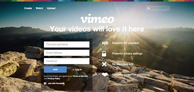 Getting Started with a Vimeo Account