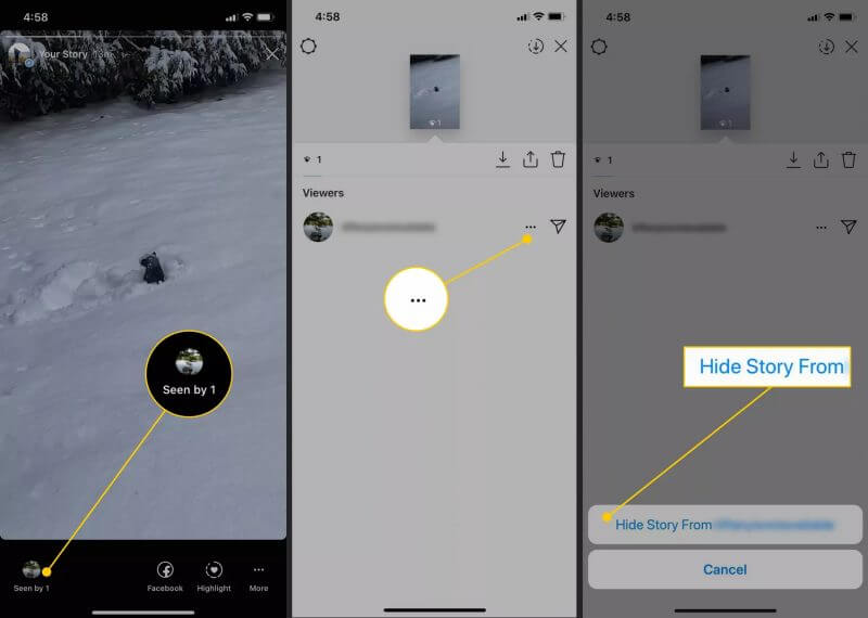 How to Hide Instagram Stories From Followers From the Viewer List on a Story