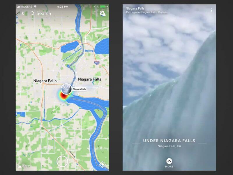 How to Use the Snap Map from the Web