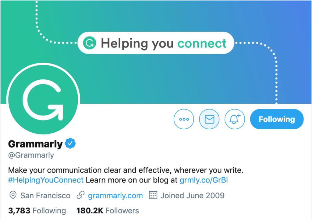 Add URLs into your profile