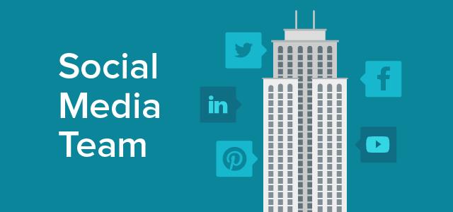 How to build a collaborative social media team