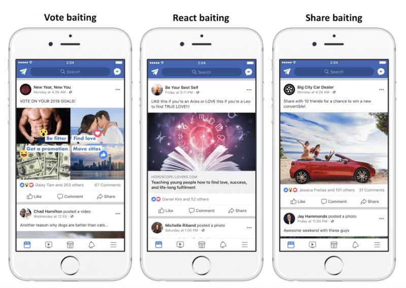 Facebook algorithm updates
