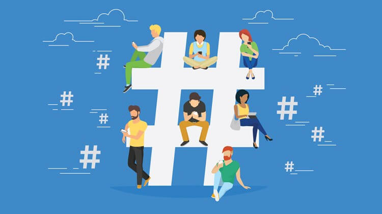 #Hashtags For Visibility verwenden