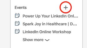Set Up Your LinkedIn Event