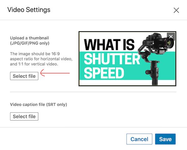 klik op Selecteer bestand en selecteer je foto