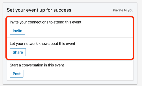 Boost Your LinkedIn Event For Your LinkedIn Network