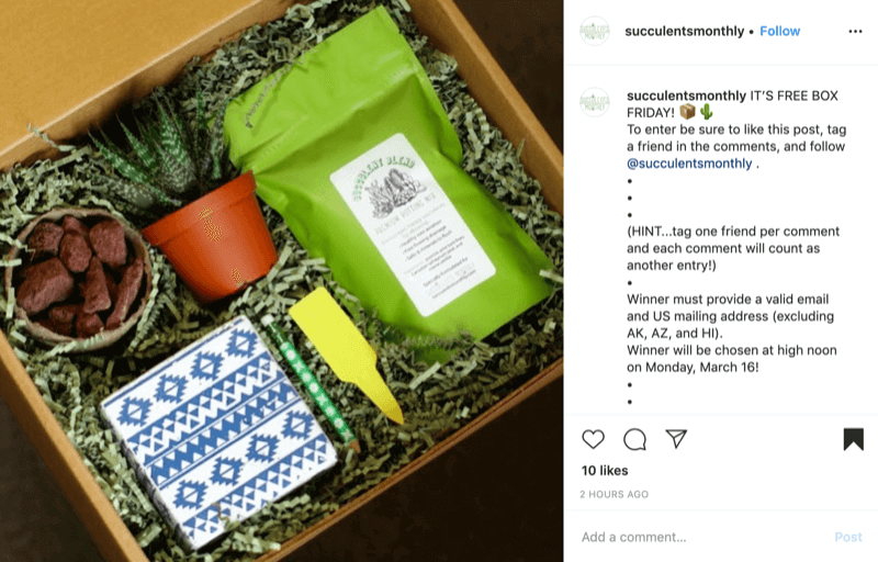 Decide How People Can Take Part in Your Insta-gram Contest