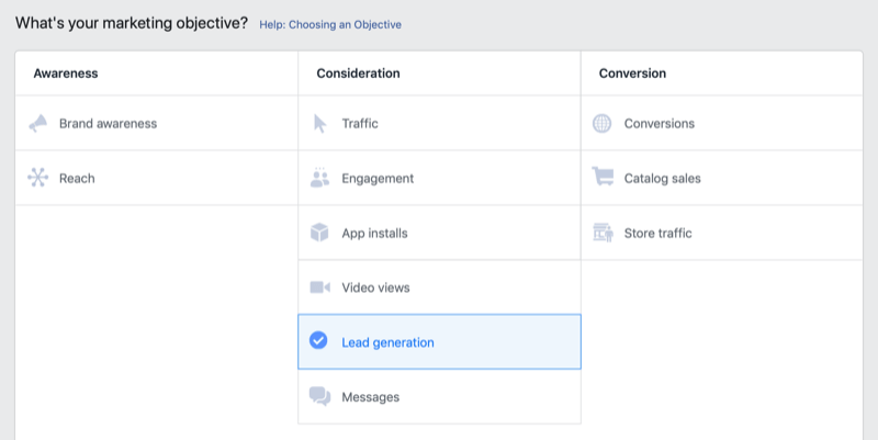 Establish Up a Face-book Leadgeneration Marketing Campaign to Reach Shoppers