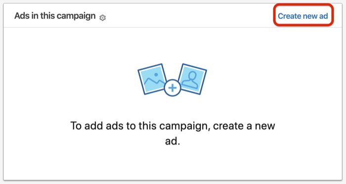 Develop a Linked in Conversation Ad