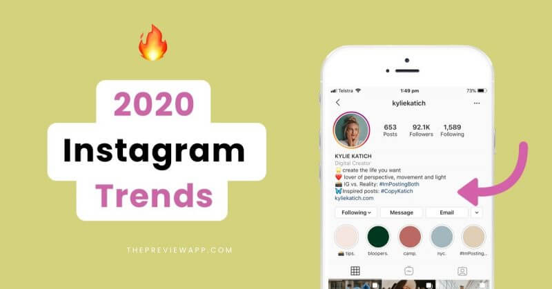 Top Instagram Trends 2020 (Content + Photos + Hashtags + Feed...)