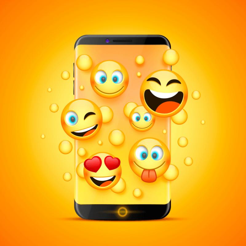 gifs and emojis