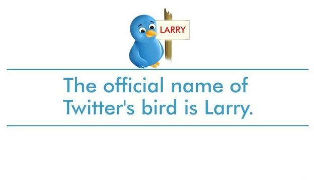 Larry the Bluebird