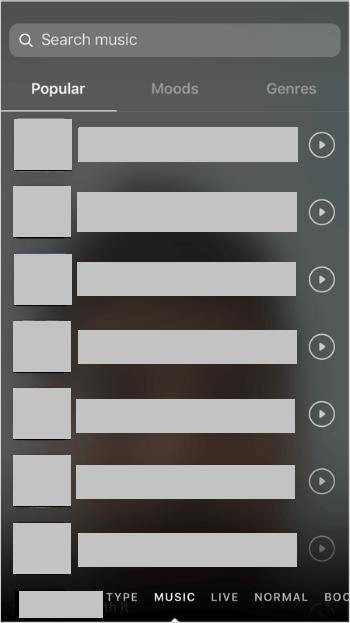 Choose songs based on genre