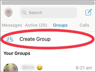 Stuur ze een bericht om ze voor te stellen