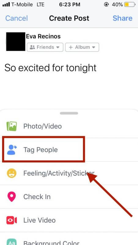 How to Tag Someone on Facebook