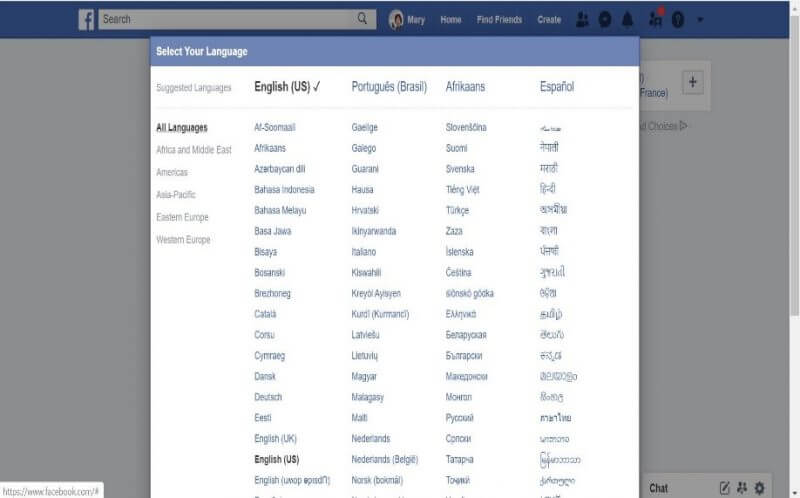 A Step-by-Step Guide to Changing Language on Facebook