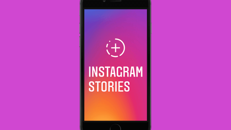 How to change the background color on an Instagram story