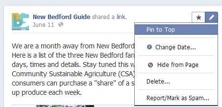 Comment épingler une publication sur les pages Facebook