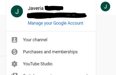 Step 2 Click on YouTube Studio
