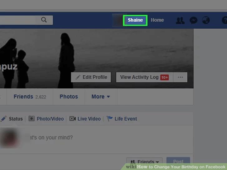 Comment changer son anniversaire sur Facebook