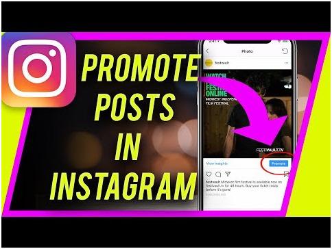 promoten op instagram