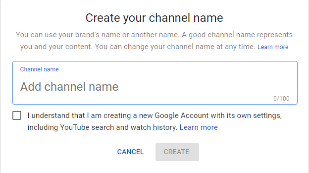 How to Create Channel on YouTube