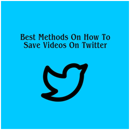 how to save a video from twitter