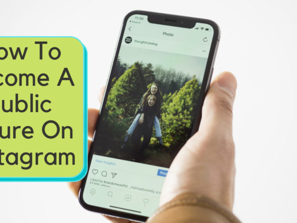 how to become a public figure on Instagram