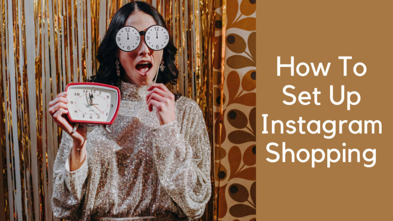 how to set up instagram shopping