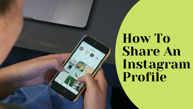 how to share an Instagram profile
