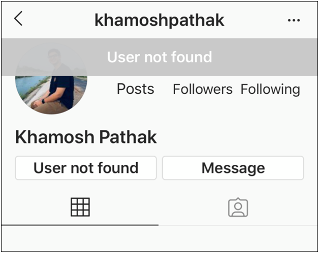 how to tell if someone blocked you in Instagram.