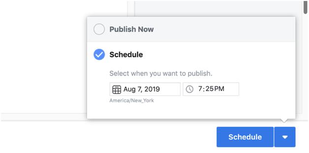 how to schedule post on Instagram
