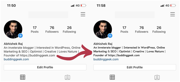 how to change font on Instagram