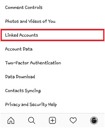 how to unlink Instagram accounts