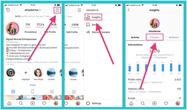 how to attach link on Instagram stories