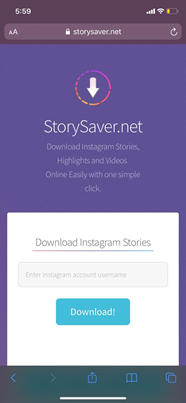 Steps to view stories anonymously