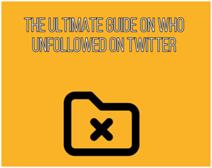 who unfollowed me twitter