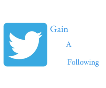how to gain a following on twitter
