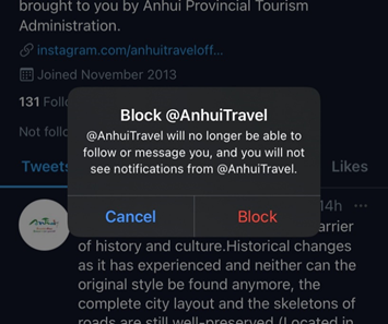 Steps to know if others can see your Tweets if you blocked them