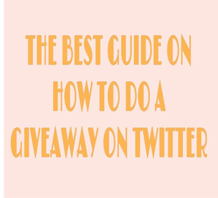 How To Do A Giveaway On Twitter