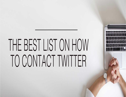 How To Contact Twitter