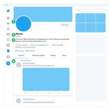 Methods to create your own Twitter business account