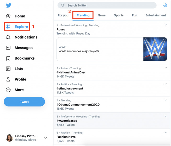 hoe je kunt zien wat er trending is op Twitter
