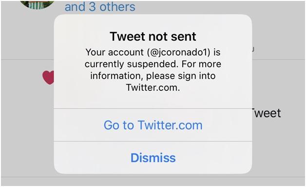 Pourquoi mon compte Twitter est-il suspendu ?