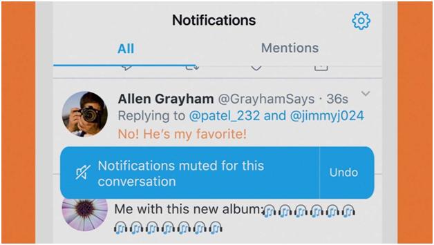 Volg je een Twitter gebruiker wiens tweets voor jou relevant zijn? Als het ontvolgen van deze persoon geen optie is, kun je hem muten.