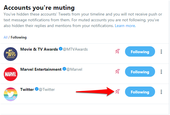Find out what happens when you mute someone on Twitter